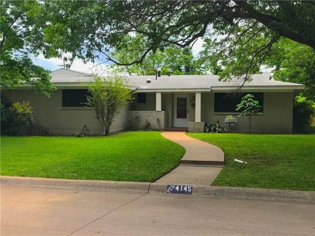 4145 Whitfield Avenue, Fort Worth, TX 76109 (MLS #13717234) :: RE/MAX