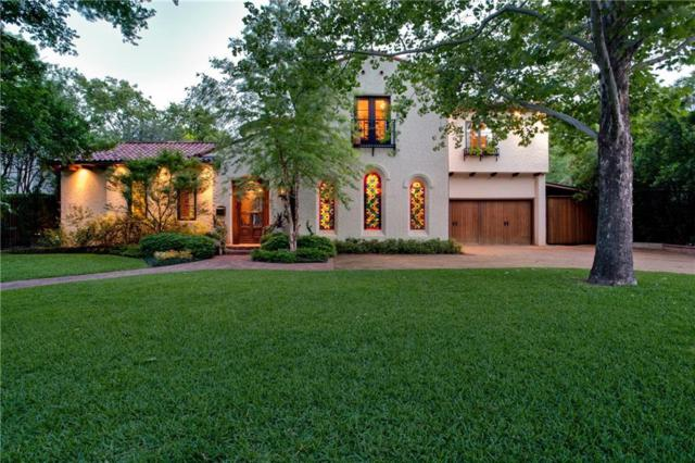 4618 Cherokee Trail, Dallas, TX 75209 (MLS #13717425) :: Frankie Arthur Real Estate