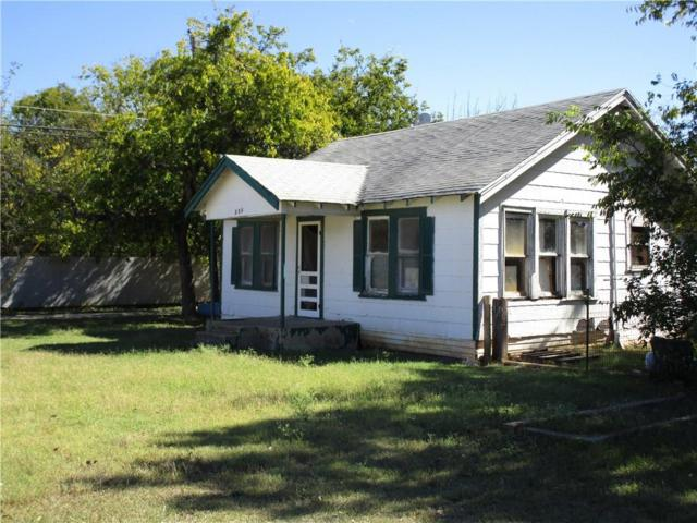 203 W Jefferson Avenue, Whitney, TX 76692 (MLS #13719839) :: Team Hodnett