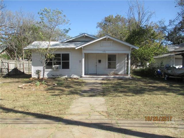 608 S Seaman Street, Eastland, TX 76448 (MLS #13720044) :: Team Hodnett