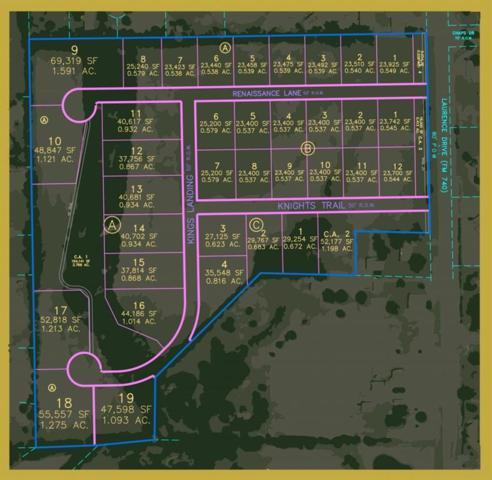 Lot 18 Kings Landing, Heath, TX 75032 (MLS #13721091) :: Robinson Clay Team