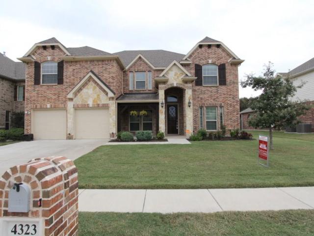 4323 Jasmine Lane, Mansfield, TX 76063 (MLS #13721219) :: The Mitchell Group