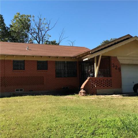 325 Woodmont Drive, Dallas, TX 75217 (MLS #13721878) :: MLux Properties