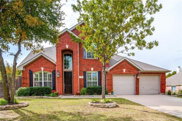 701 Sibyl Lane, Prosper, TX 75078 (MLS #13722305) :: Van Poole Properties
