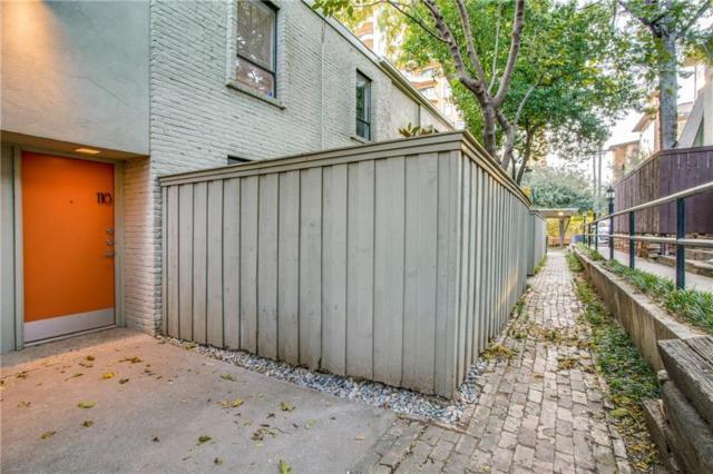 2727 Hood Street #110, Dallas, TX 75219 (MLS #13723470) :: Magnolia Realty