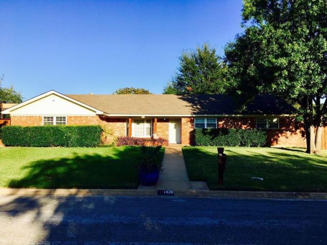 1428 Elizabeth Street, Hurst, TX 76053 (MLS #13723514) :: Team Hodnett