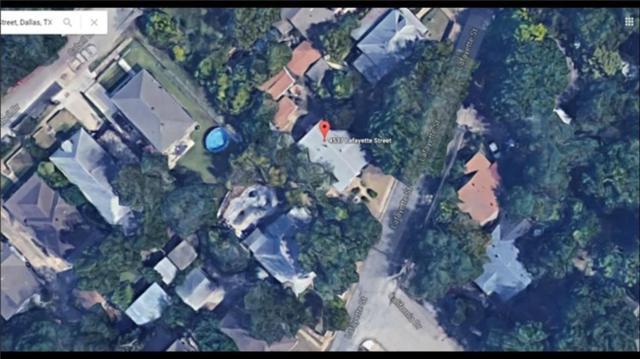 4606 Lafayette Street, Dallas, TX 75204 (MLS #13724404) :: RE/MAX Landmark