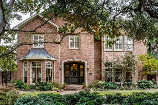 3905 Greenbrier Drive, University Park, TX 75225 (MLS #13726746) :: Robbins Real Estate Group
