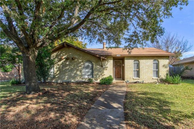 4825 Ash Glen Lane, The Colony, TX 75056 (MLS #13726808) :: Kimberly Davis & Associates