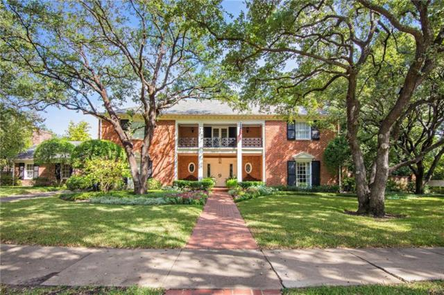 4200 Belclaire Avenue, Highland Park, TX 75205 (MLS #13728069) :: Robbins Real Estate Group