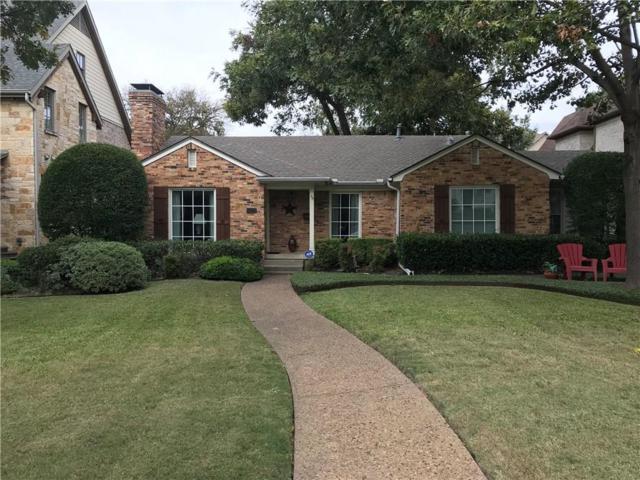7629 Bryn Mawr Drive, Dallas, TX 75225 (MLS #13728325) :: Team Hodnett