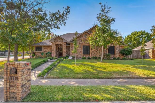 1416 Sweetgum Circle, Keller, TX 76248 (MLS #13729607) :: Team Hodnett