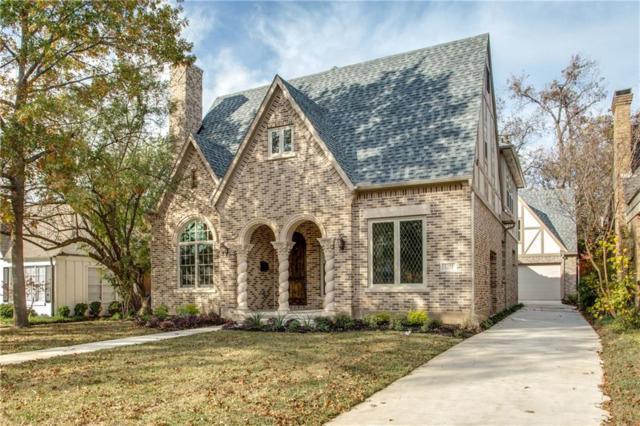 5251 Monticello Avenue, Dallas, TX 75206 (MLS #13730829) :: MLux Properties