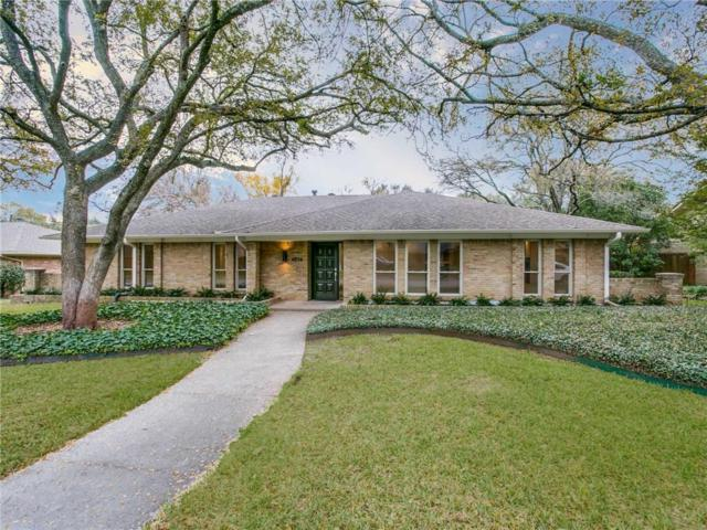 4836 Harvest Hill Road, Dallas, TX 75244 (MLS #13732341) :: Robbins Real Estate Group