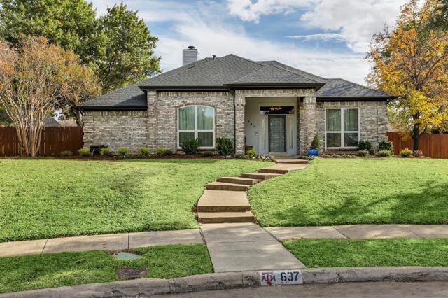 637 Raven Lane, Coppell, TX 75019 (MLS #13733177) :: Team Hodnett