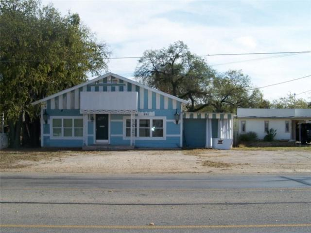 902 Neches Street N, Coleman, TX 76834 (MLS #13733231) :: Team Tiller