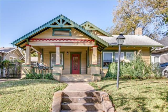 211 N Waverly Drive, Dallas, TX 75208 (MLS #13733337) :: Van Poole Properties