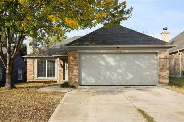 4641 Feathercrest Drive, Fort Worth, TX 76137 (MLS #13733459) :: Team Hodnett