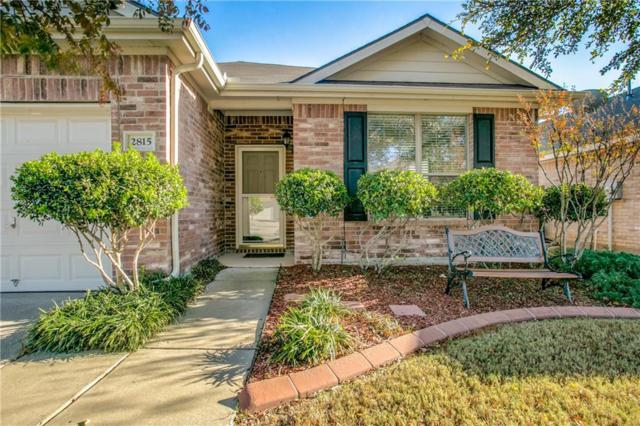 2815 Park Place Drive, Grand Prairie, TX 75052 (MLS #13733560) :: The FIRE Group at Keller Williams