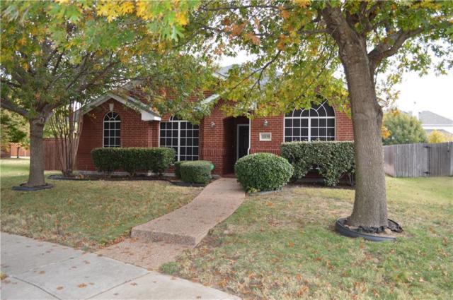 1809 Modena Drive, Frisco, TX 75033 (MLS #13733583) :: Frankie Arthur Real Estate