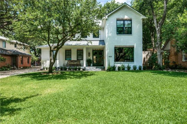 4505 Pomona Road, Dallas, TX 75209 (MLS #13733801) :: Frankie Arthur Real Estate