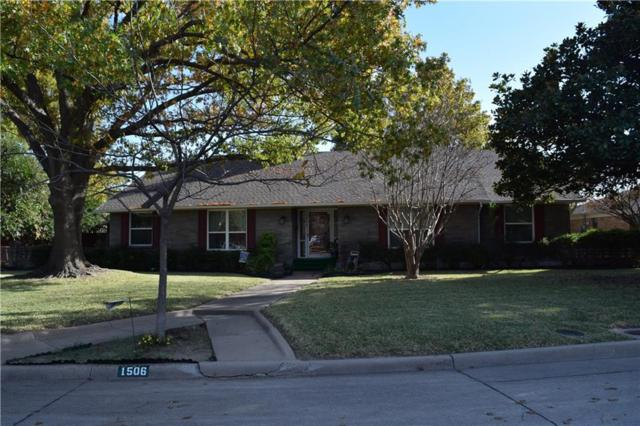1506 R Avenue, Plano, TX 75074 (MLS #13734282) :: Team Tiller