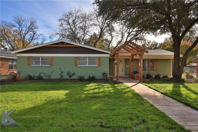 2033 River Oaks Circle, Abilene, TX 79605 (MLS #13734704) :: Team Hodnett