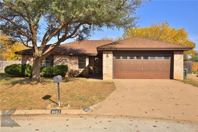 4602 Oak Knoll Street, Abilene, TX 79606 (MLS #13734712) :: North Texas Team | RE/MAX Advantage