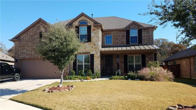 220 Saratoga Drive, Lake Dallas, TX 75065 (MLS #13735579) :: Team Hodnett