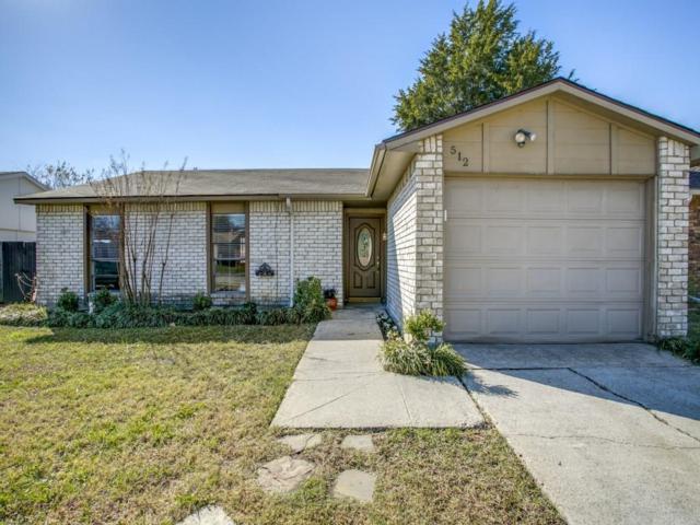 512 Fairhaven Drive, Allen, TX 75002 (MLS #13735618) :: Exalt Realty