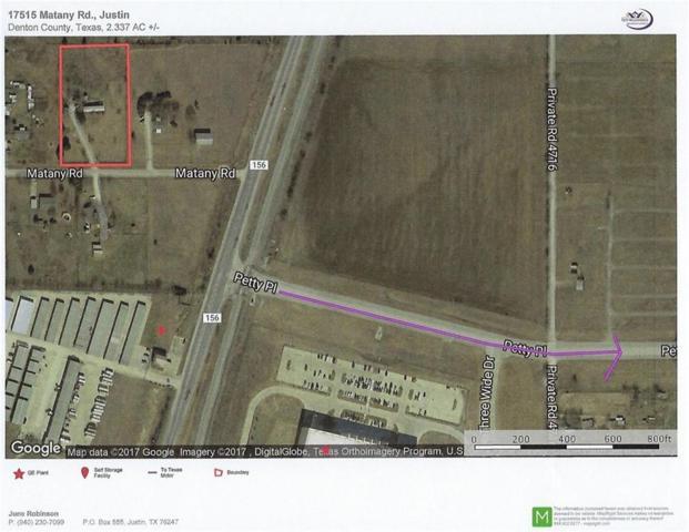 17515 Matany Road, Justin, TX 76247 (MLS #13736785) :: RE/MAX Elite