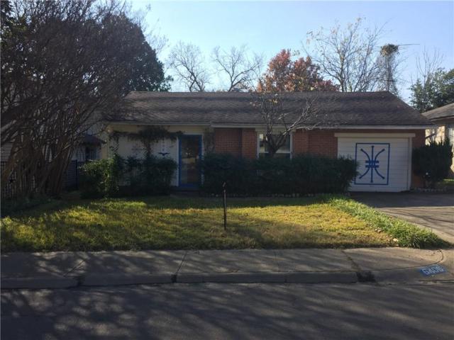 6406 Sondra Drive, Dallas, TX 75214 (MLS #13737557) :: NewHomePrograms.com LLC