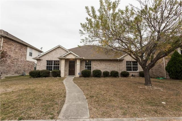 323 Valley Ridge Drive, Red Oak, TX 75154 (MLS #13741484) :: RE/MAX Preferred Associates