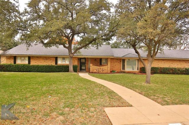 726 Green Valley, Abilene, TX 79601 (MLS #13742278) :: Team Hodnett
