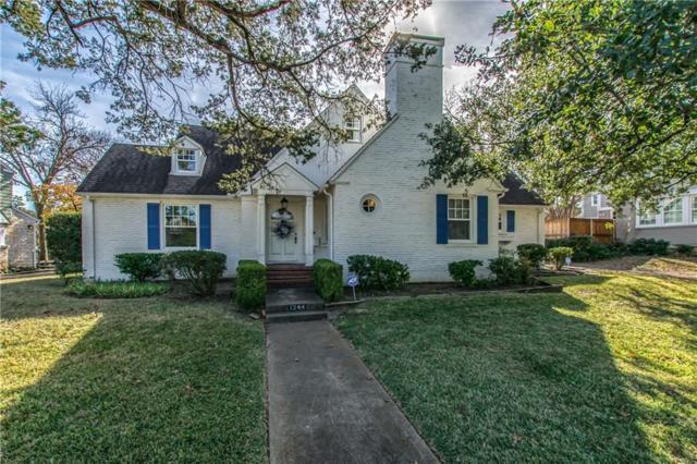 1244 N Tyler Street, Dallas, TX 75208 (MLS #13743194) :: Team Hodnett