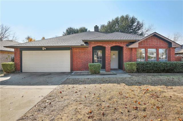 4949 Oak Hollow Drive, Grand Prairie, TX 75052 (MLS #13743523) :: Henegar Property Group -- Keller Williams Realty