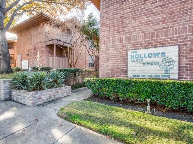 10566 High Hollows Drive #157, Dallas, TX 75230 (MLS #13743584) :: Exalt Realty