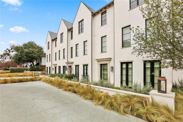4502 Abbott Avenue #213, Highland Park, TX 75205 (MLS #13743821) :: Frankie Arthur Real Estate