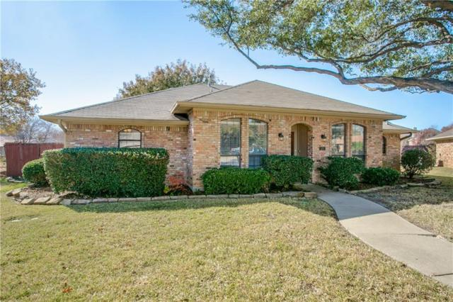 165 Simmons Drive, Coppell, TX 75019 (MLS #13744155) :: The Marriott Group