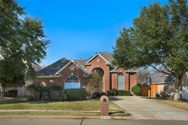 3412 Diamond Point Drive, Flower Mound, TX 75022 (MLS #13744354) :: Real Estate By Design