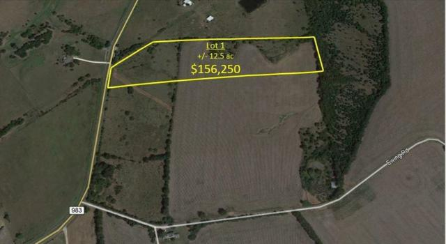 Lot1 Ewing Road, Ferris, TX 75125 (MLS #13744485) :: RE/MAX Elite
