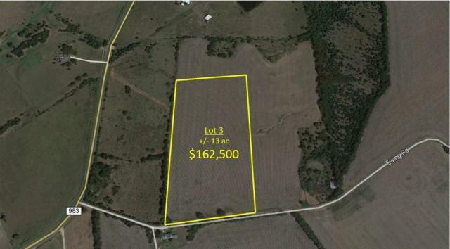Lot3 Ewing Road, Ferris, TX 75125 (MLS #13744525) :: RE/MAX Elite