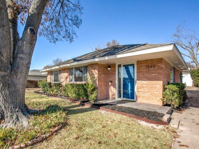 1545 Trailridge Drive, Dallas, TX 75224 (MLS #13744707) :: The Mitchell Group