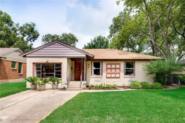 612 Aqua Drive, Dallas, TX 75218 (MLS #13744725) :: Team Tiller