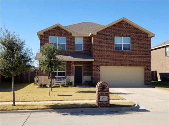 937 John Kennedy Drive, Saginaw, TX 76179 (MLS #13746088) :: Team Hodnett