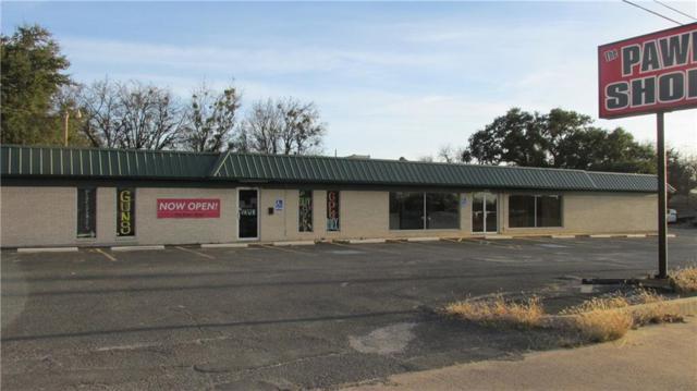 1050 E Washington Street, Stephenville, TX 76401 (MLS #13747384) :: Team Hodnett
