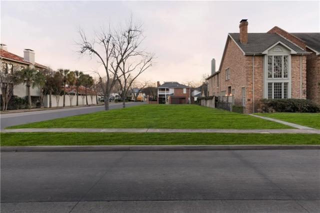 3701 Binkley Avenue, University Park, TX 75205 (MLS #13748746) :: The Chad Smith Team