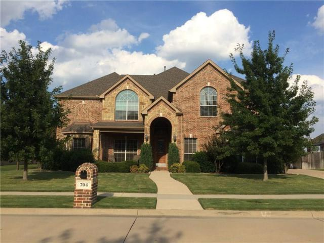 704 Montclaire Drive, Mansfield, TX 76063 (MLS #13749256) :: Magnolia Realty