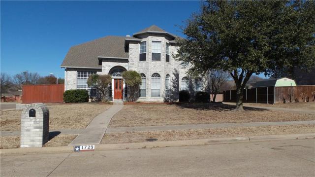 1729 Walters Drive, Plano, TX 75023 (MLS #13751517) :: Team Hodnett