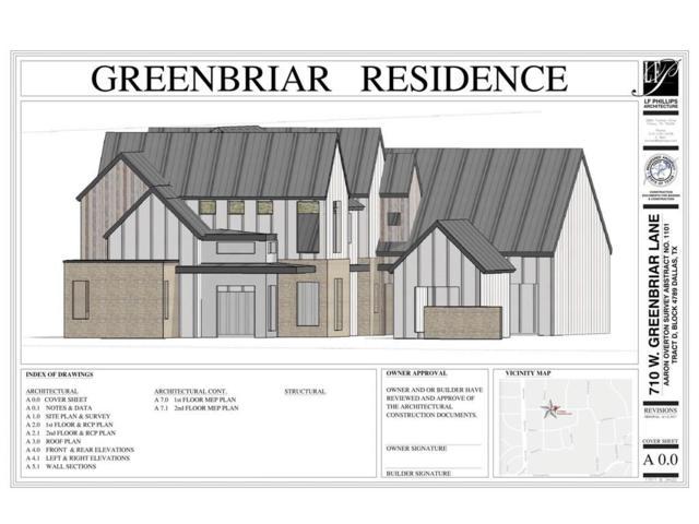 710 W Greenbriar Lane, Dallas, TX 75208 (MLS #13751654) :: Team Hodnett
